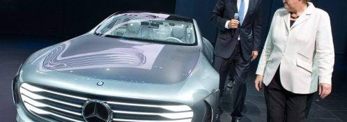 Angela Merkel tysk selvkørende bil investering