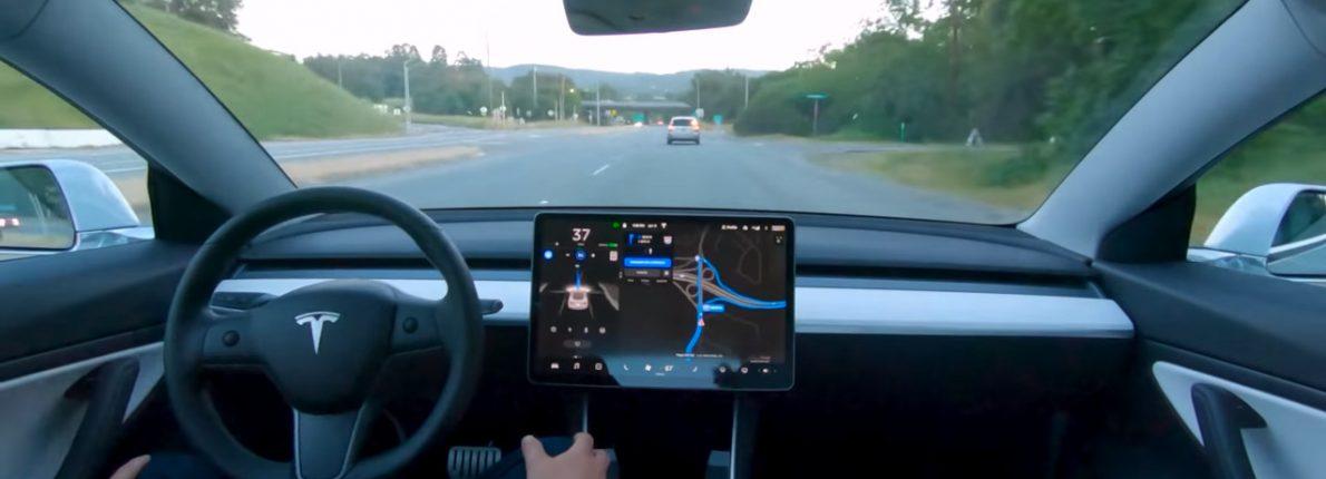 Selvkørende Tesla 2019