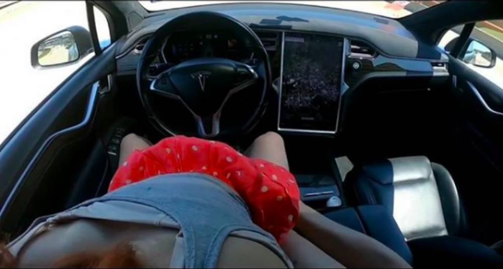 Første pornofilm optaget i en selvkørende bil
