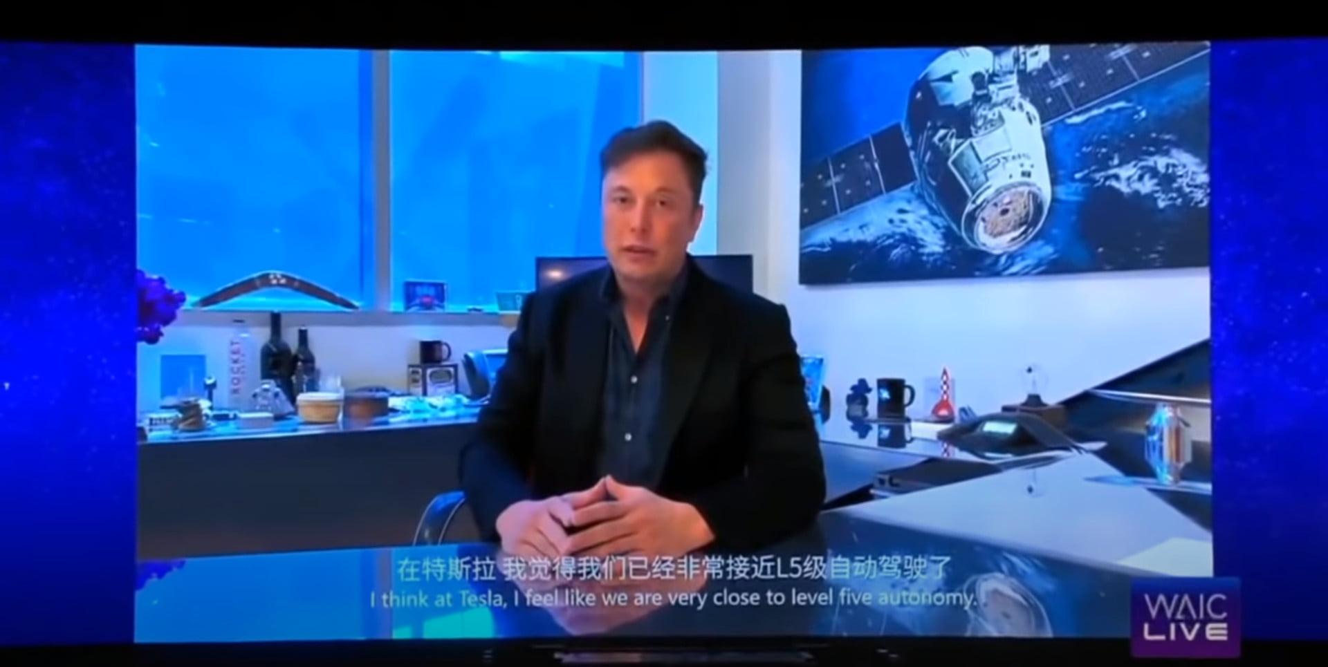 Elon Musk: Niveau 5 teknologi klar inden årets udgang