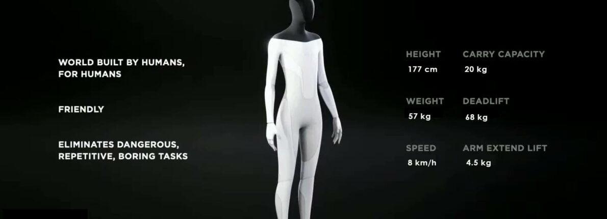 Tesla Bot with metric stats