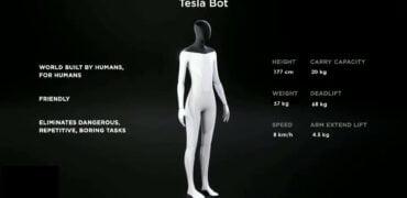 Tesla bygger menneskelignende robot med selvkørende software